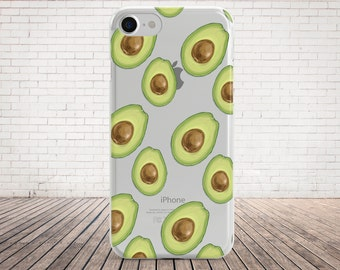 Avocado Phone Case Avocado iPhone 6 Case Avocado iPhone 7 Plus Case Avocado iPhone 7 Case Avocado iPhone 6 Plus Case Avocado Clear