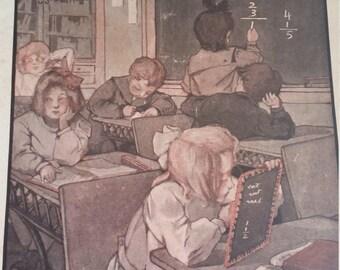 Vintage Publication, School Life Publication Dated October 1907