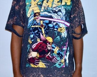 Distressed X-Men tee ( Men's Large)