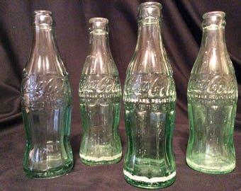 Christmas Coca-Cola Bottles