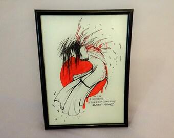 Inktober 2016: bleed [original]