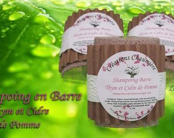 Shampoo bar 125g apple cider and thyme