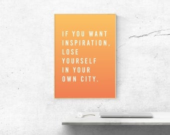 Inspirational Quote, Printable Quotes, 50x70 Poster, Wall Art Prints, Instant Download, Motivational Quotes, Quote Prints