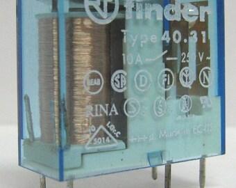 Relay Finder 24Vdc model 40.31