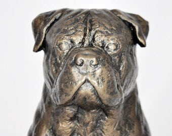 BULLMASTIFF - unique dog sculpture