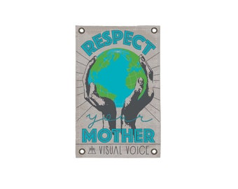 Mother Earth Canvas Sign