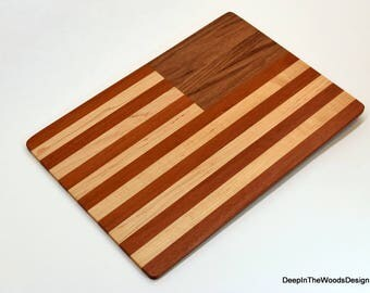 Wood Clipboard - American Flag Hardwood Clipboard - Office Gift