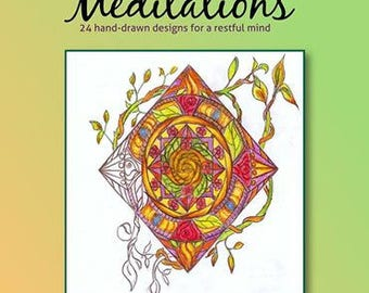 Colorful Meditations Coloring Book