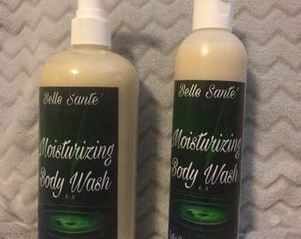 Cleansing honey coconut body wash