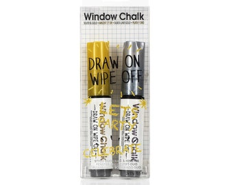 Gold & Silver Metallic Window Chalk