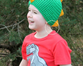 Kid's Dinosaur Hat Baby Toddler and Adult