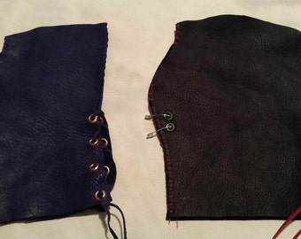 Pair of Leather Larp Gloves