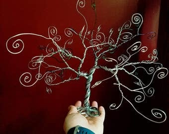 Swirl Tree - Photo Holder