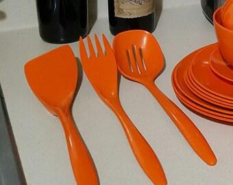 Orange Rosti Mepal Utensils