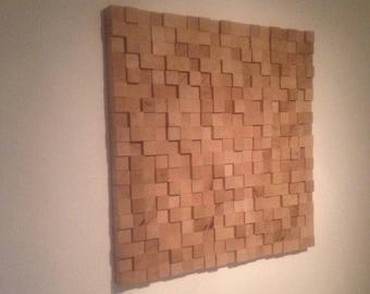 Wall piece - Dutch oak
