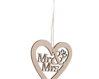 Mr and Mrs Sign Bride Groom Signs