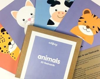 Flashcards for Children - Animals