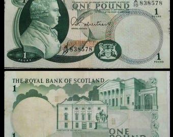 SCOTLAND 1 pound banknote