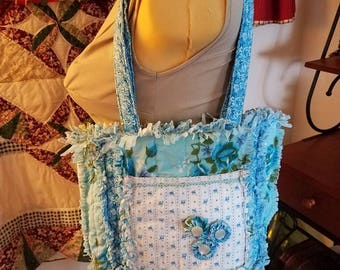 Shabby Chic Rag Purse