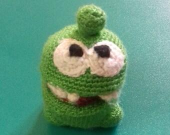 Om-nom crocket cartoon toy