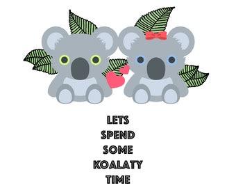 Koalaty Time Print
