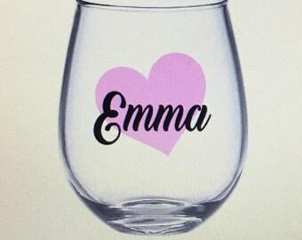 Bridesmaid wine glasses. Bridesmaid wine glass. Asking to be bridesmaid. Bridesmaid ask gift. Bridal party wine glasses bridal party gift