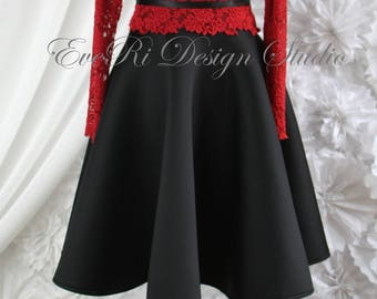 Party dress, two in one dress, special occasion gown, birthday dress