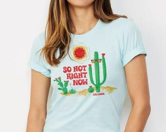 It's So Hot Right Now : Arizona Series Crew Neck T-Shirt