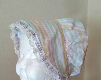 Baby Sun Bonnet Size 6 to 12 Months