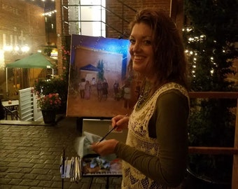 Live Event Painting at Your Event