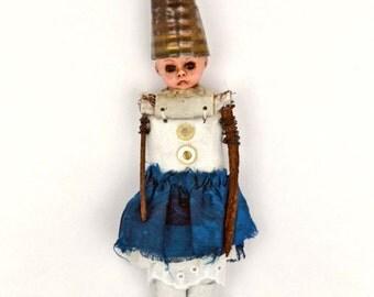 Assemblage Art Doll