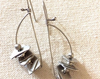 Sterling Junque Earrings