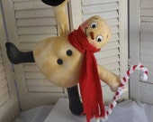 """Primitive Sewing Pattern Snowman """"Thumpity, Thump, Thump"""""""