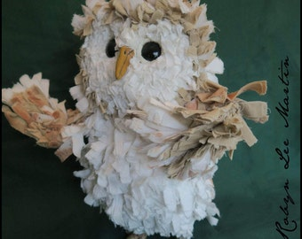 Olivia Primitive Soft Sculpture Barn Owl