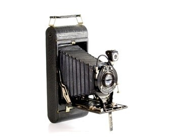No. 1A Pocket Kodak: Vintage Anastigmat Autographic Camera, Circa 1926