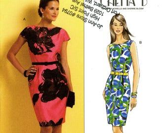 Butterick B5316 Chetta B Easy Fitted Dress Size 14 16 18 20 Uncut Sewing Pattern 2009