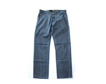 SALE - Moschino Jeans Dyed Distressed Cotton Pants