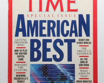 TIME American Best 1986 special issue cover page