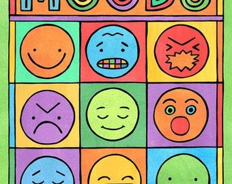 Moods (8x10 print)