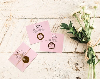 First Anniversary Gift - Scratch Off Cards - Love Coupons - Paper Anniversary - Love Vouchers - Personalized Anniversary Gift - Couples Gift