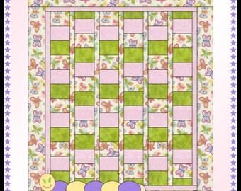 Downloadable Caterpillar Quilt Pattern
