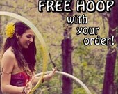 """FREE POLYPRO Hoop! Choose ANY Size Clear Poly in 3/4"""" Or 5/8"""" Tubing with your Order of 39 Dollars or More!"""