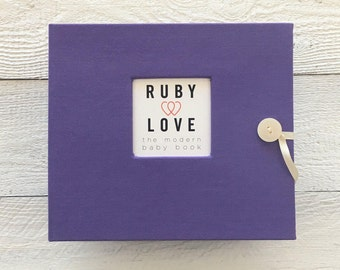 Solid Purple | BABY BOOK