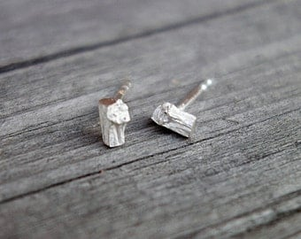 tiny twig ear studs