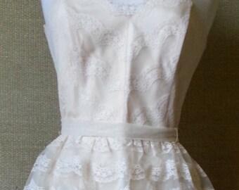 Tea length bridal reception dress SALE