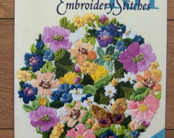 1999 pattern book An Encyclopedia of 101 Embroidery Stitches guc