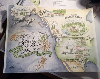 Shipping of map original