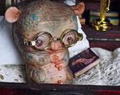 Agustín Piltratus - art doll ooak pure sculpt fantasy creature imaginary friend magical fairy tales creatures