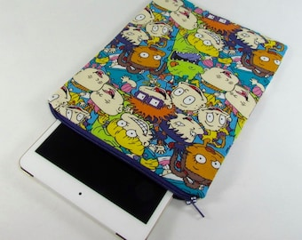 iPad mini Padded Sleeve (for iPad mini 2, 3, 4) - Rugrats **handmade**