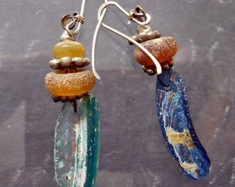 Dig Season Ancient Glass Earrings